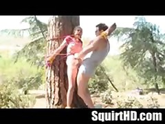 Petite Teen Shelby Angel Forced to Squirt and Fuck in the Woods - SquirtHD.com