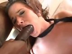 Tori Black Enjoying Dark Meat