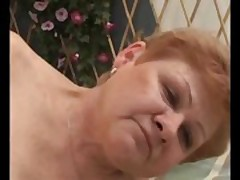 GILF granny of age fucked distance from outlying