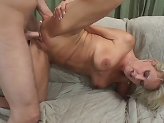 HOT MILF FUCKS HER SON