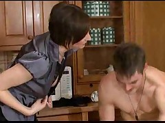 European MILF Fucked By Her Son