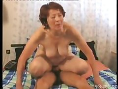 Granny fuck boy next door part 3