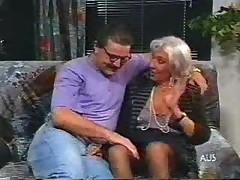 white hair granny