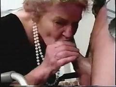 granny 75years ago fucking
