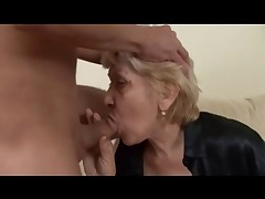 Enormous Granny beside Stockings Fucks