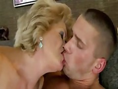 Granny loves to spoil the cock