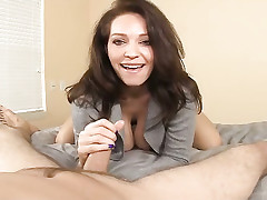Act out special MILF Charlee stroking