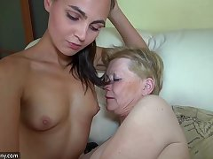 Spot on target young wholesale with an increment of grey granny masturbated