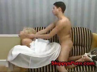 Bride gets fucked by stranger