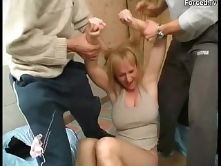 Mature forced fuck