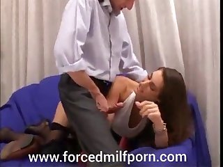 Hot Sexy Milf forced fucked