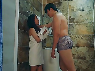 Unfaithful Korean chick fucking