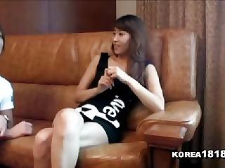 Her sexy Korean smile