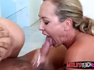 Natalia gets naughty with MILF neighbor