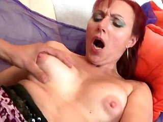 Perfect mature mom suck and fuck her young boy