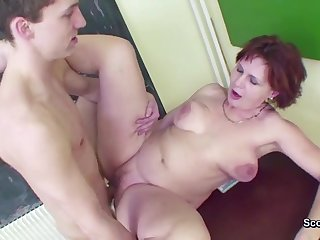Milf Teacher Seduce 18yr old Boy to Fuck in School