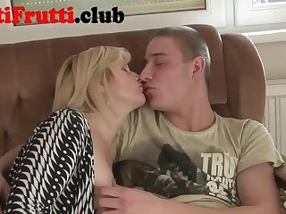 Porn mom at home