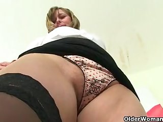 Older British milf