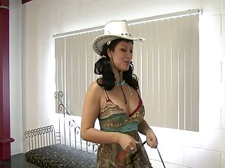 Cowgirl Saddle Ride