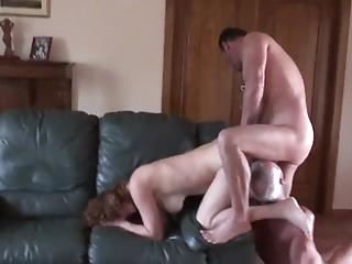 Amateur mature cuckold threesome part 2