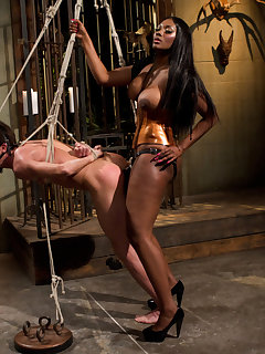 12 of The black goddess trampled and pumped malesub