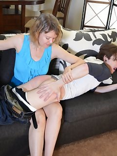 16 of Mother Spanks Kade, Day 1