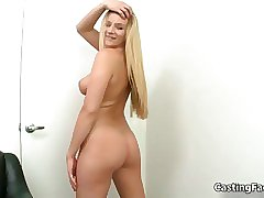 Fit blonde with natural tits gets fucked film